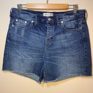 Madewell | High Waisted Cutoff Shorts | Size 29